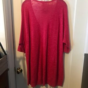 Eileen Fisher Tops - Pink tunic with deep V